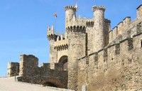 Die Burg von Ponferrada
