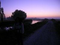 Morgendämmerung bei Boadilla