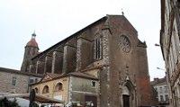 Die Kathedrale Saint-Luperc