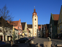 04-Schwandorf oberer Marktplatz