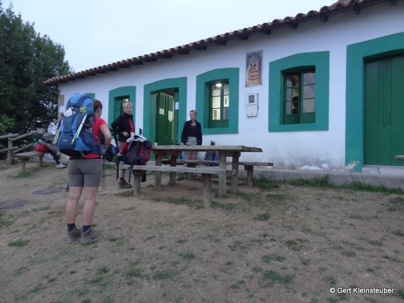 Aufbruch zur 2, Etappe nach Salas