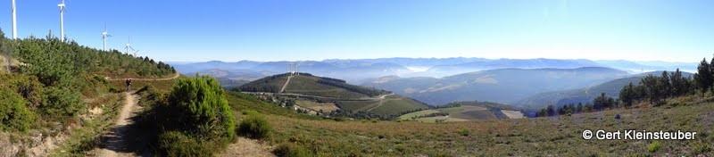 Aufstieg zum Alto de el Acebo