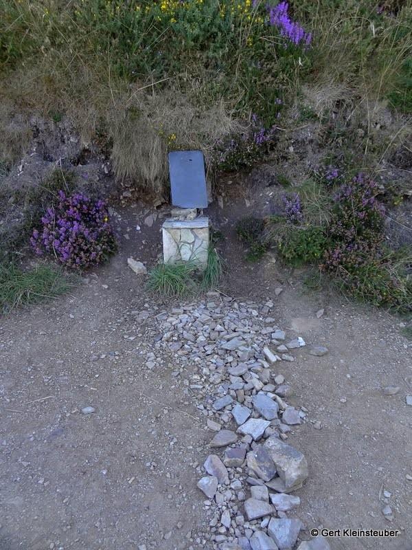Die Grenze zu Galicien