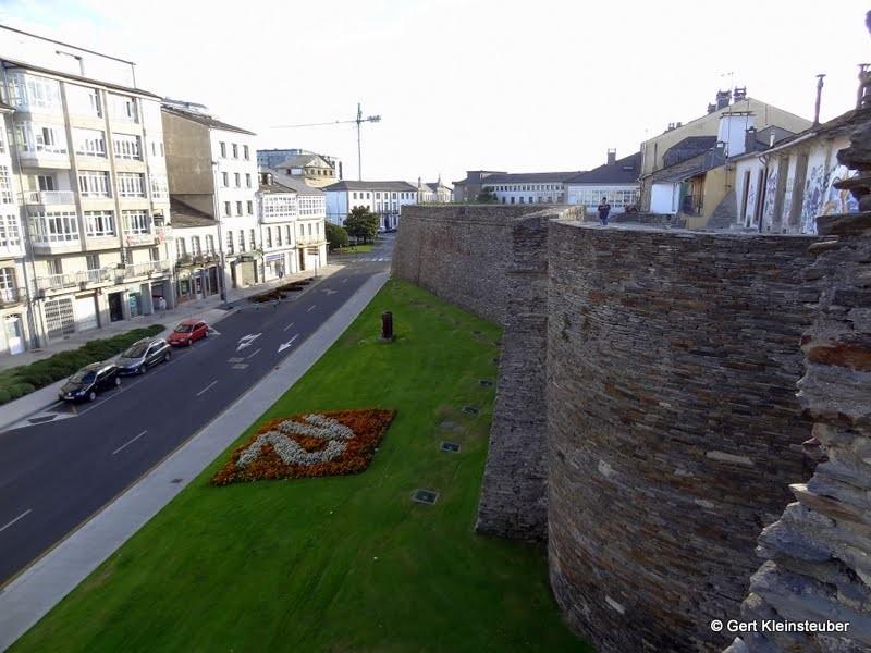 Historische Stadtmauer in Lugo