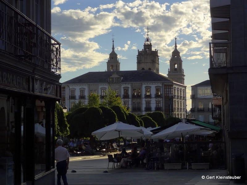 Fressmeile au der Plaza Mayor