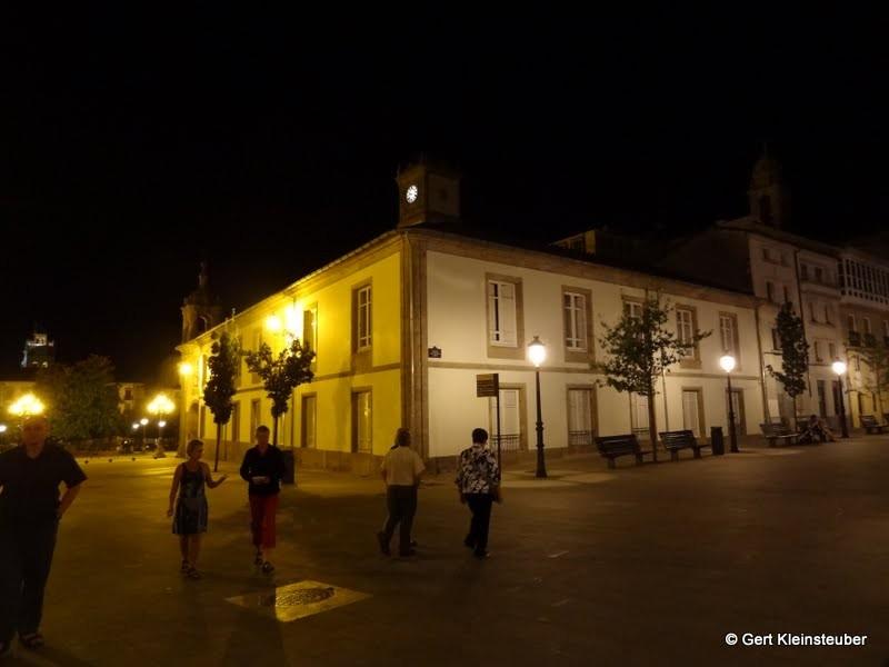 Nächtliches Lugo