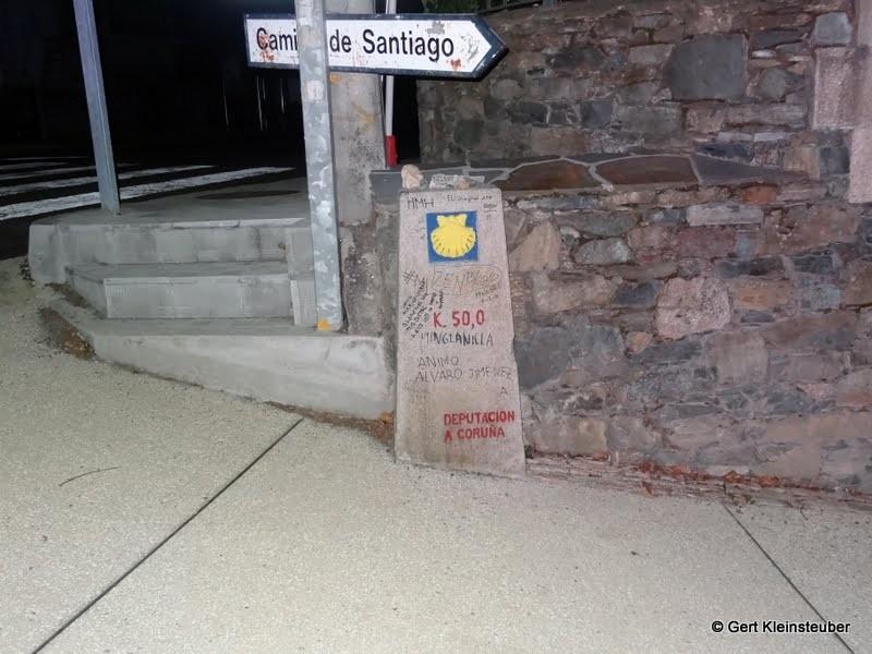 11. Etappe, noch 50 Kilometer bis Santiago