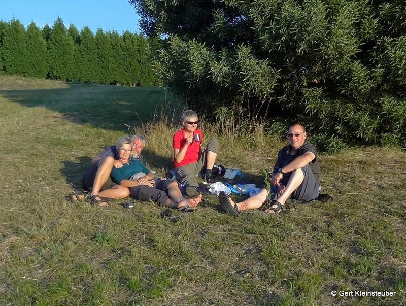 Piknik auf dem Monte do Gozo