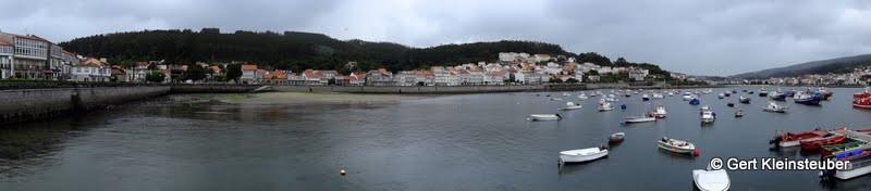 Hafen von Corcubion