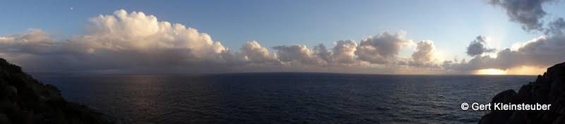 Sonnenuntergang am Cap