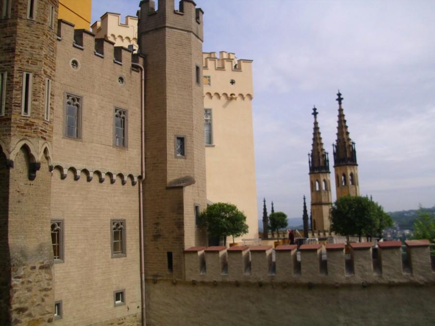 Burg Stolzenfels in Koblenz