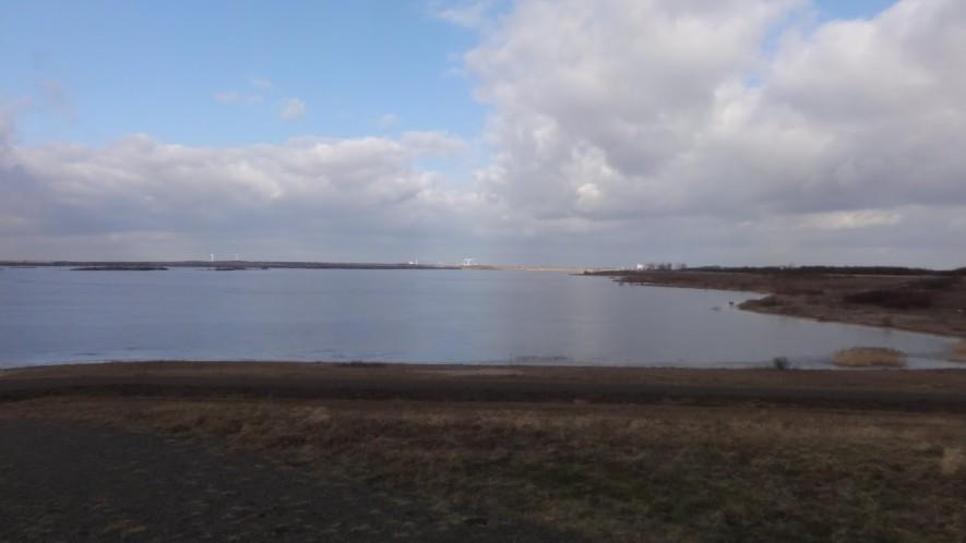 Werbeliner See sürdlich von Delitzsch