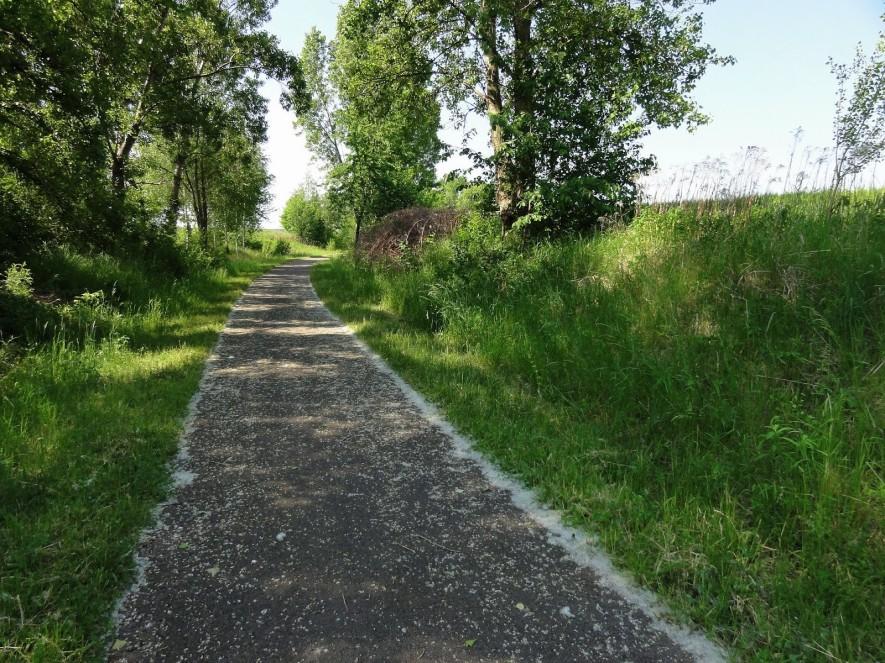 Weg nach Rossbach