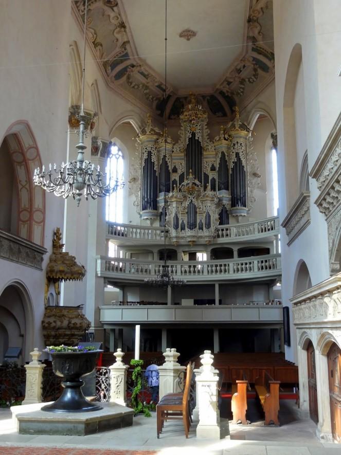 Hildebrand - Orgel in St Wenzel