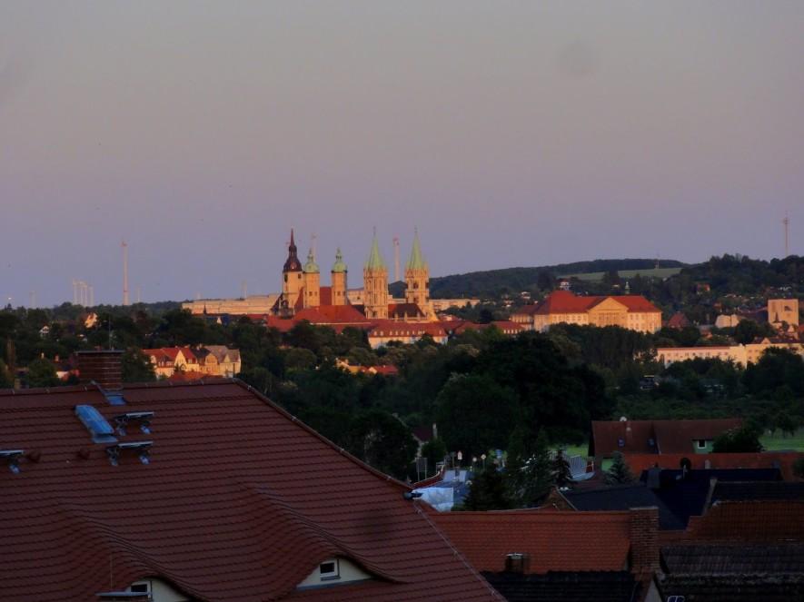Naumburg in der Abendsonne