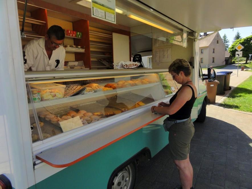 Hunger! - Bäckerauto in Spielberg