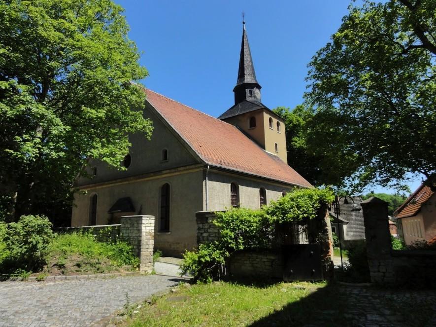 Die Kirche von Eckartsberga