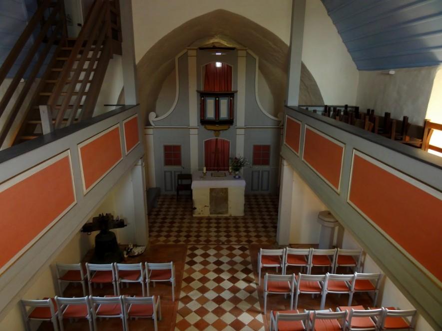 Sanierte Kirche St Kilian in Stedten