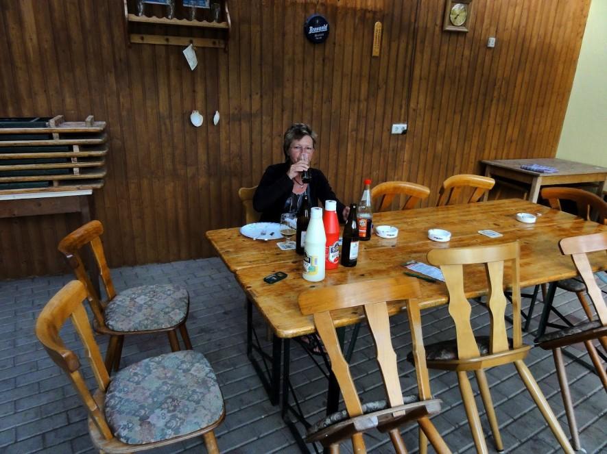 Abendessen im Getränkemarkt