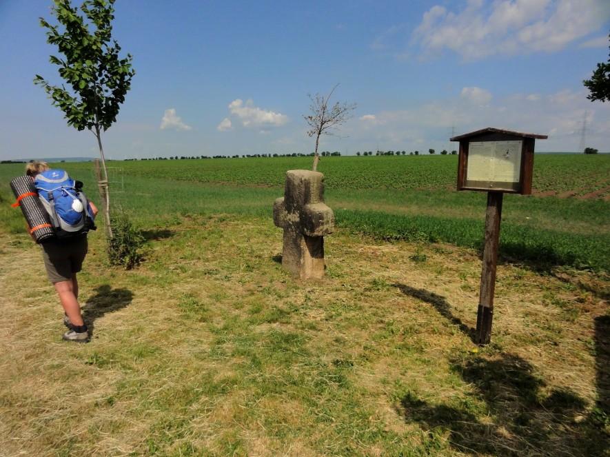 Steinkreuz hinter Kleinrettbach