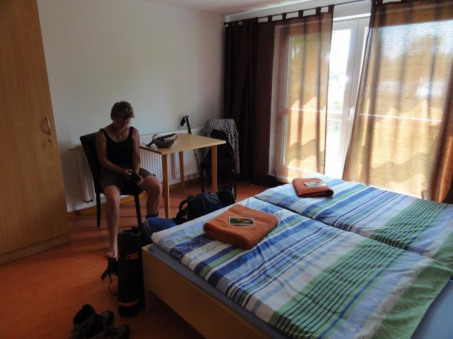 Pilgerunterkunft mit Hotelniveau