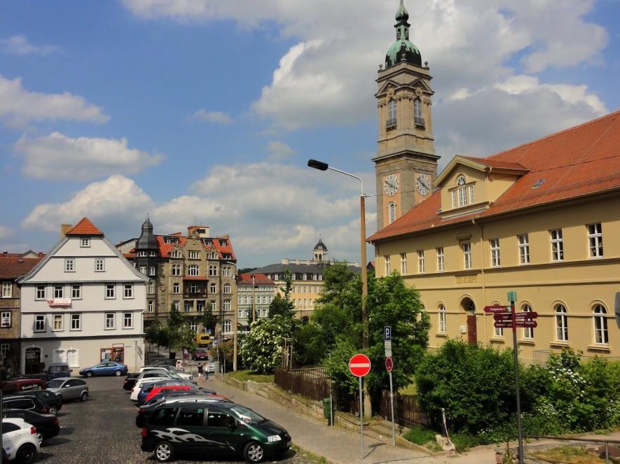 Eisenacher Markt und Georgenkirche