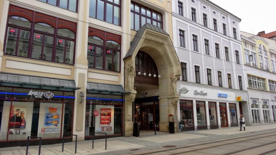 Jugendstil Portal in der Berliner Straße
