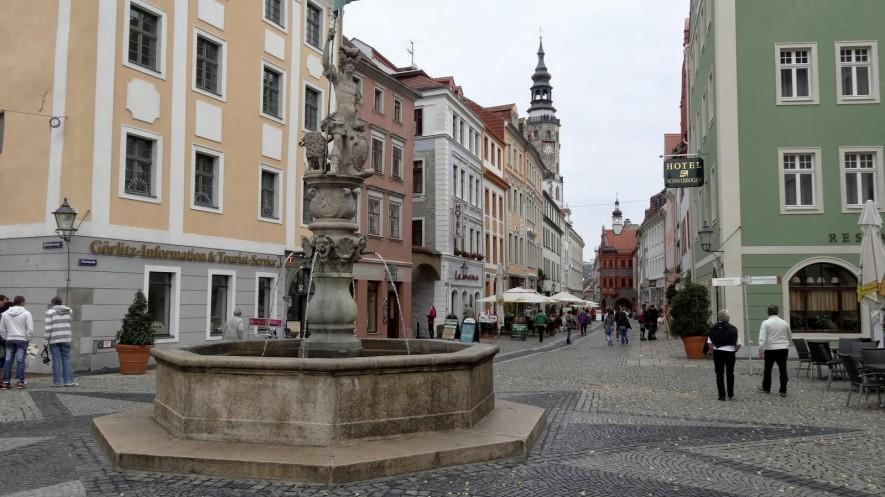 Georgsbrunnen am Obermarkt