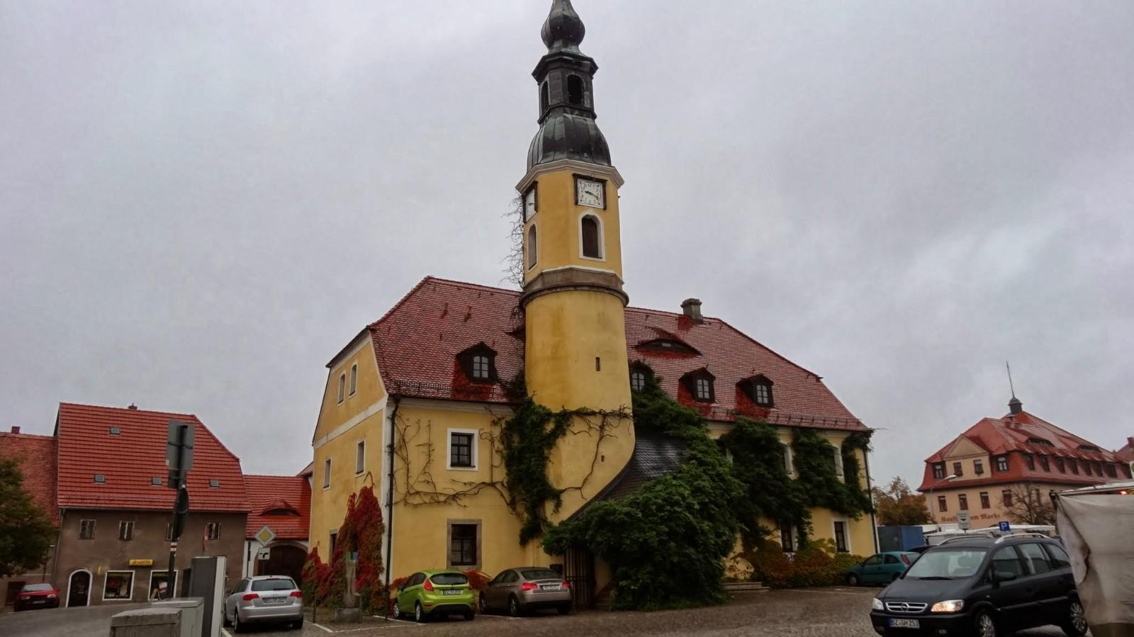Rathaus in Weißenberg