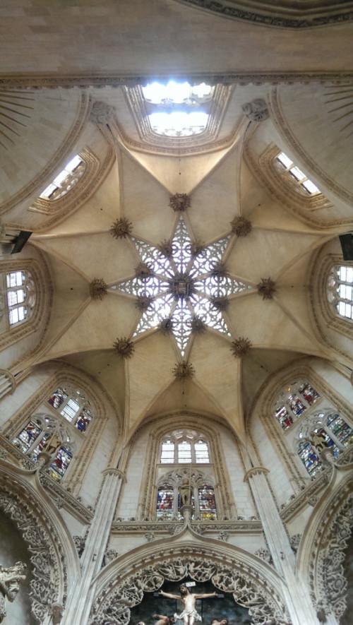 Decke einer Seitenkapelle