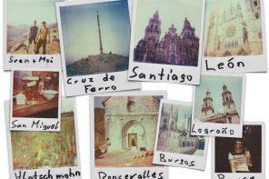 Eine Polaroid-Bilderreise