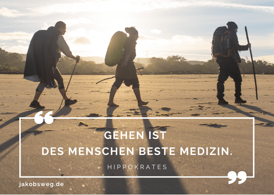 Gehen ist des Menschen beste Medizin